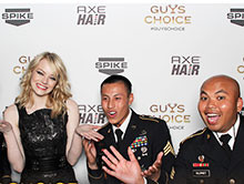 Guys Choice 2012 Smilebooth Pics With The Troops