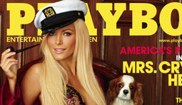 Hugh Hefner Gets Back at Bailed Bride with New Playboy Cover