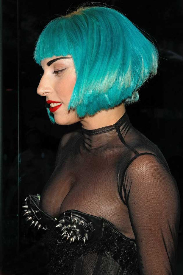 Lady Gaga's Epic Cleavage
