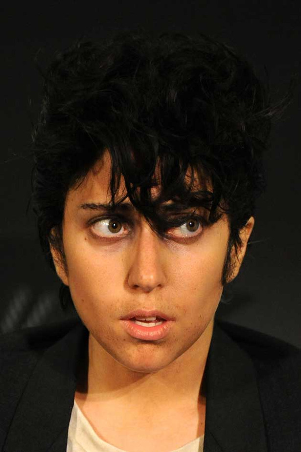 Lady Gaga Steps Out As a Man
