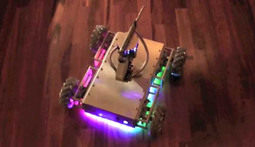 Man and His Two Daughters Build a Robot That Fires 1000 Rounds a Minute