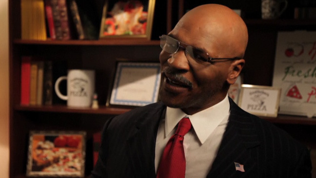 Herman Cain's Campaign Promises with Mike Tyson