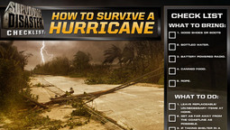 Disaster Checklist: How To Survive A Hurricane