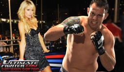 Paris Hilton Trains for the Ultimate Fighter...Sort Of