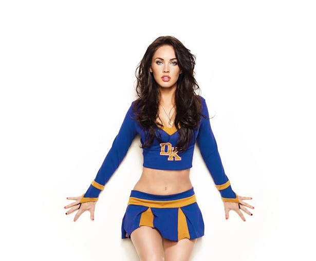 Megan Fox's Cheerleader Pictures