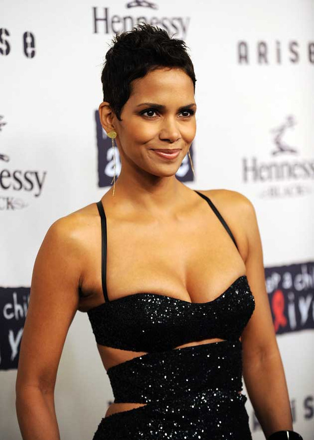 Halle Berry's Breasts Keep Children Alive