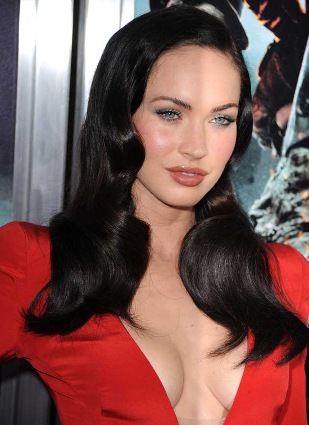 Megan Fox's Red Carpet Cleavage