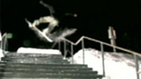 Snowboarder Headers Rail