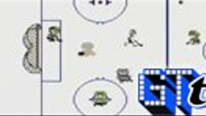 Ice Hockey - Virtual Console Gameplay