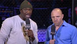 Andre Berto and Antonio Tarver Punch In