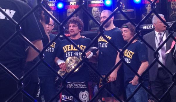 Bellator Askren Amoussou results photo