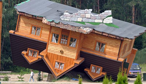 Top Six Craziest Homes Ever Built Flip Men Spike