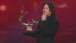 Norman Reedus Is Honored As The Biggest Ass Kicker