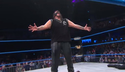 World Tag Team Championship: The BroMans Vs. Eric Young & Abyss