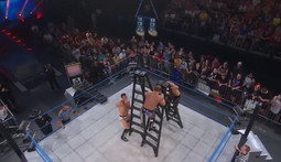 World Tag Team Championship Ladder Match: The Wolves Vs. The BroMans