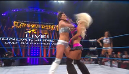 Knockouts Tag Match: The Beautiful People Vs. Brittany & Gail Kim