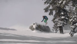 Shredding The Back Country With Iris Lazz