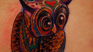 Tattoo Nightmares: Wise As An Owl